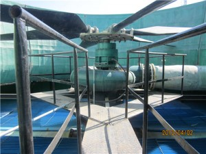 水轮机驱动冷却塔