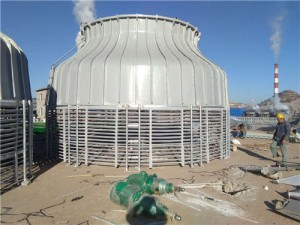 工业圆形冷却塔